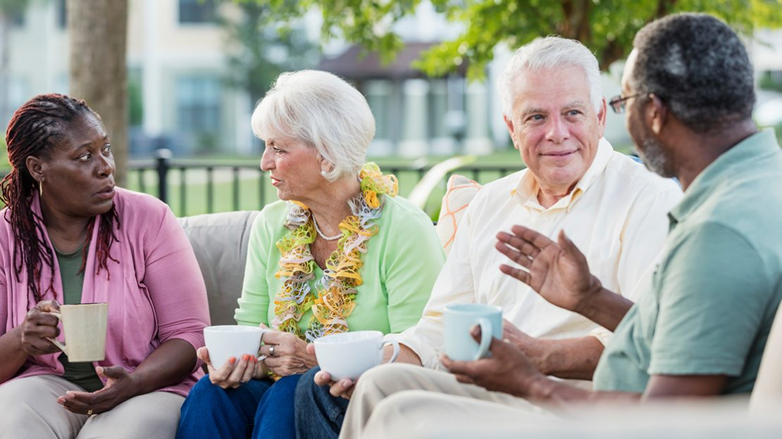 Why do older adults move into independent living communities?